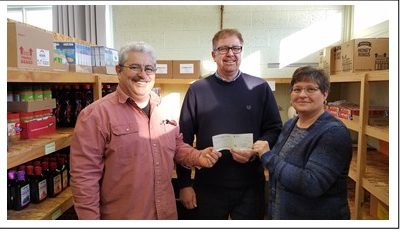 Founders Fund Grant Announced , St. Christopher's Parish Food Pantry